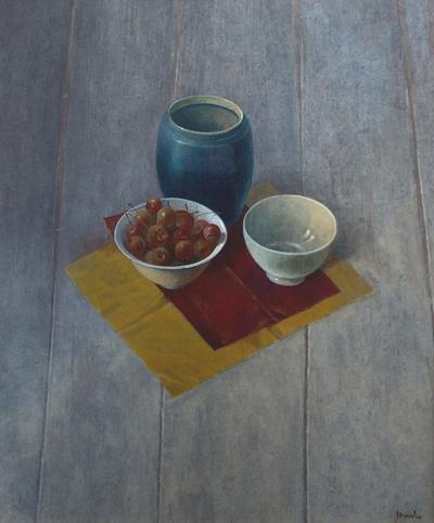 Kersen, acryl, 40x48