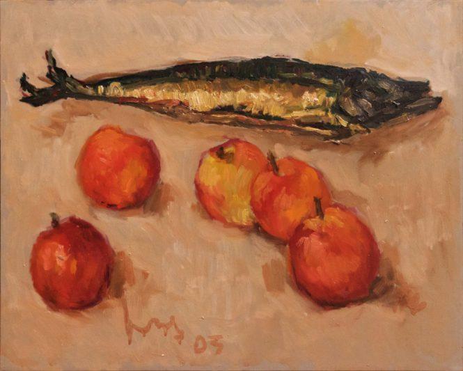 Makreel met Appels 40x50 2003