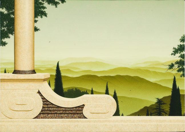 The old ways, acryl op paneel, 25x35