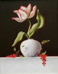 ruud-verkerk-tulp-en-rode-besjes-30x24